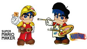 Super Mario Maker Goemon meets Mario Paint Goemon by Ruensor