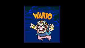 Wario in sonic cd sound test by Ruensor