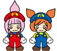 Kat and Ana Super Mario Bros Great Mission Rescue by Ruensor