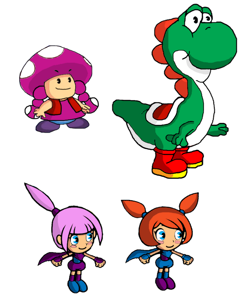 More super mario super show playable characters