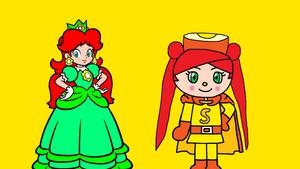 Princess Melvina meets Sunshinepanna