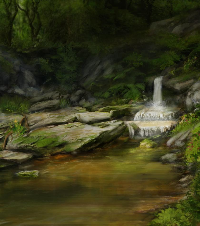 Secret place by Litureldur