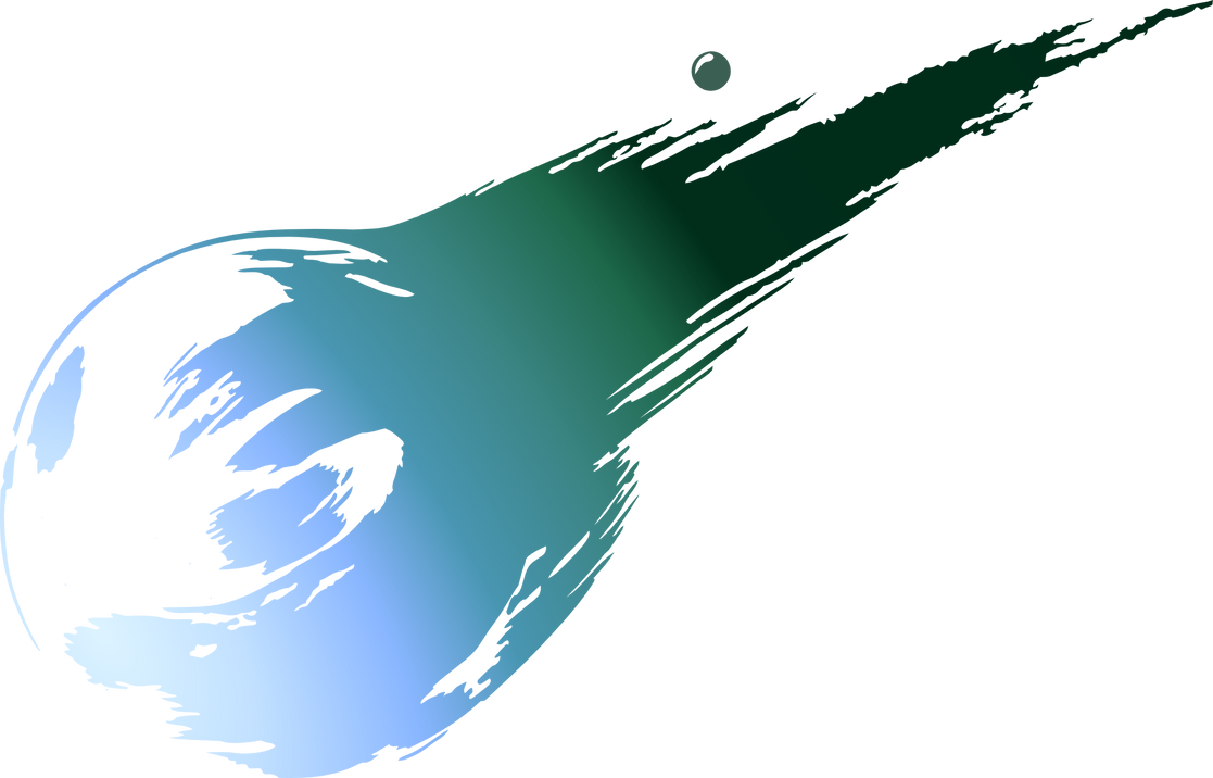 final fantasy vii logo by eldi13 on deviantart