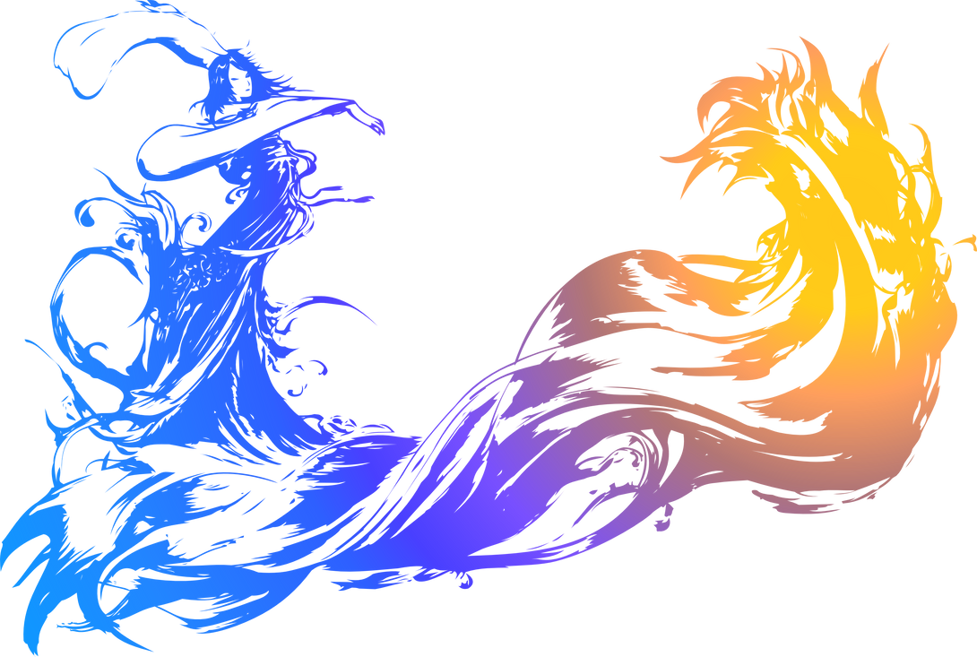 Line Art Logo Maker : Final fantasy logo by eldi on deviantart