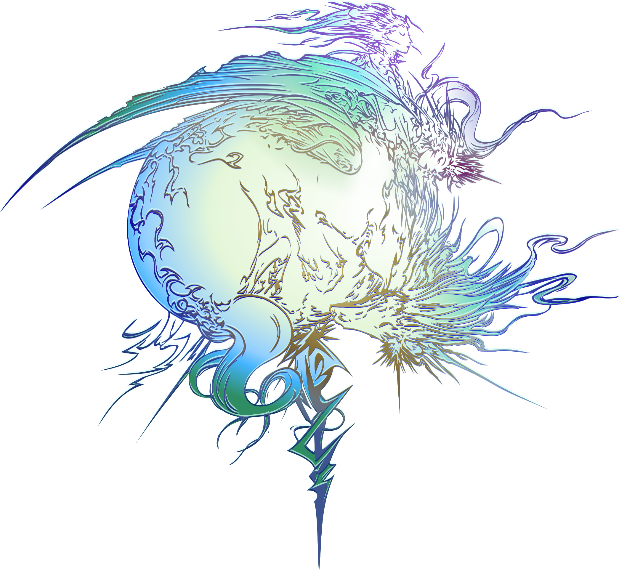 final fantasy xiii logo by eldi13 on deviantart