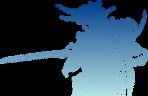 Original Final Fantasy I logo by eldi13