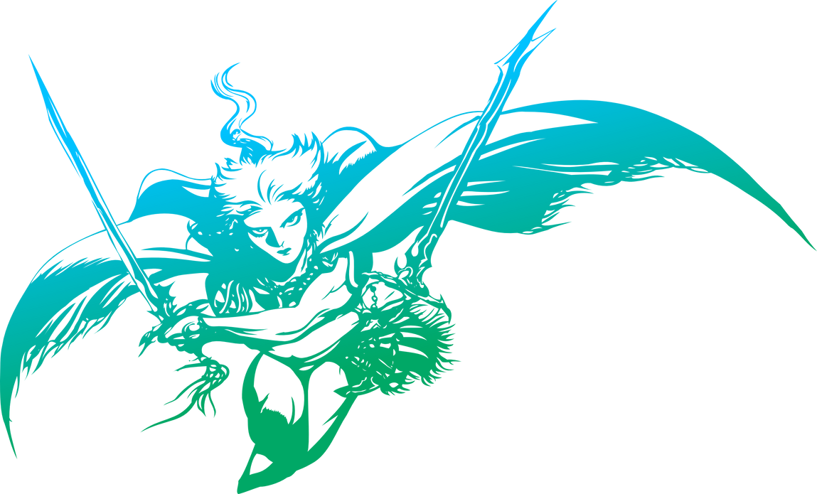 Final Fantasy III logo by eldi13