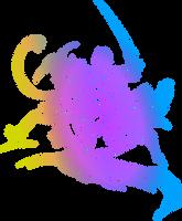 Final Fantasy X-2 logo by eldi13