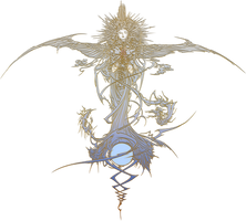 Fabula Nova Crystallis: Final Fantasy logo by eldi13