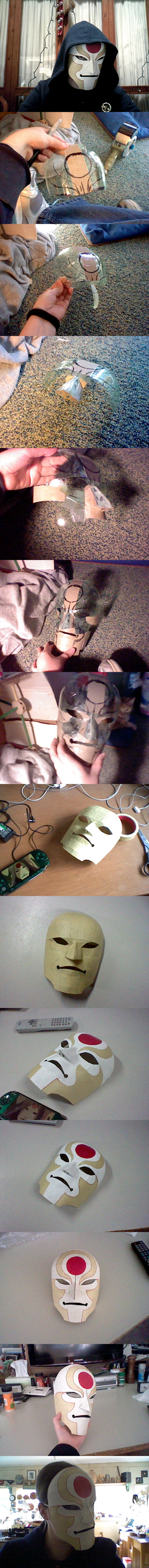 Amon Mask (Made from a soda bottle and pasta box) by eldi13