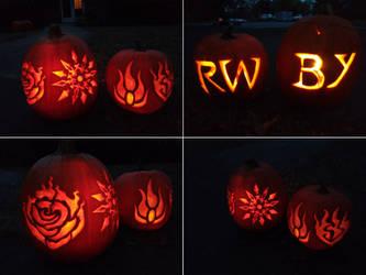 RWBY pumpkins!