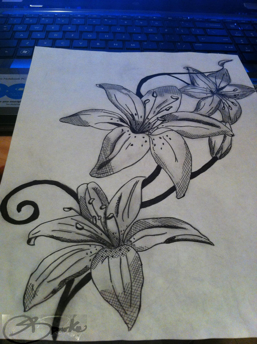 Lilies tattoo by donteventripbro on deviantart lilies tattoo by donteventripbro lilies tattoo by donteventripbro izmirmasajfo