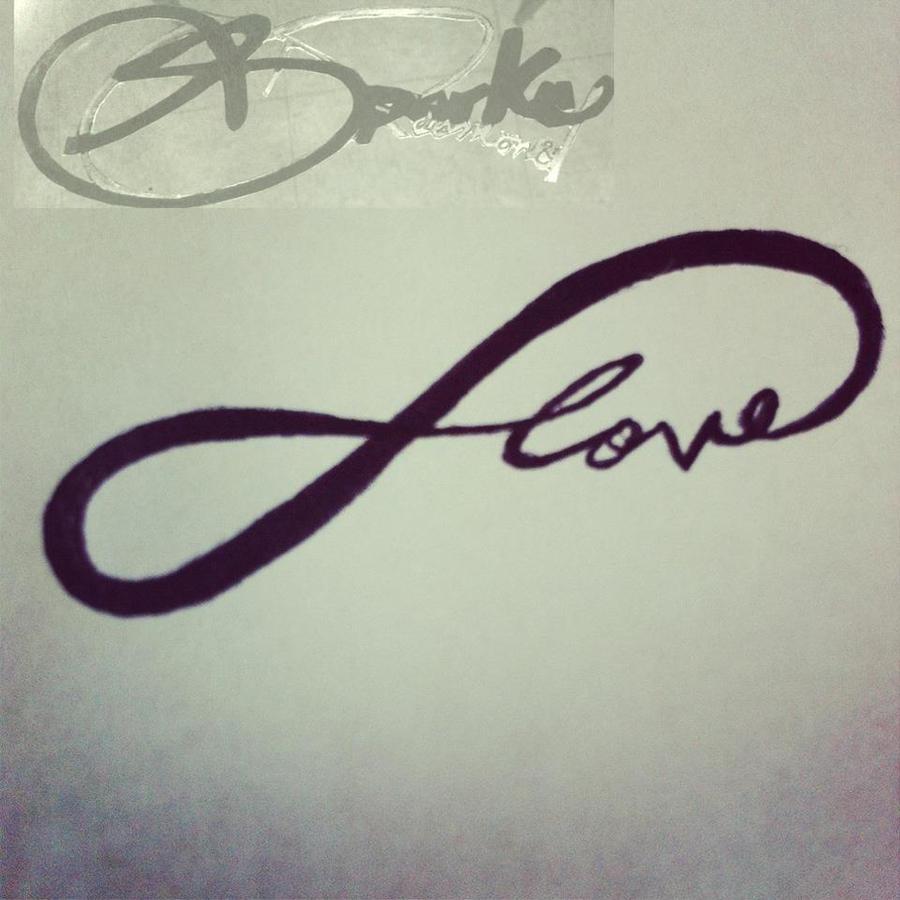 infinity love symbol tattoo by DontEvenTripBro
