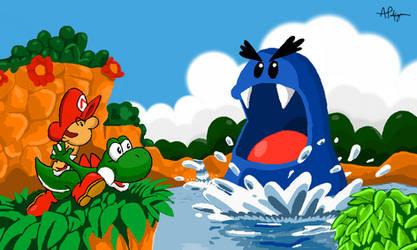 Yoshi's Island by PalfreyMan