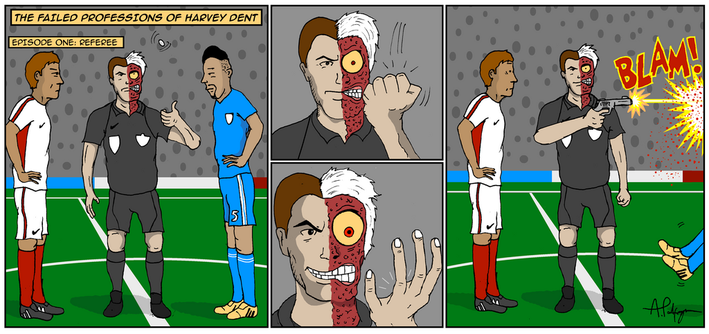 Harvey Dent - Referee by PalfreyMan