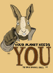 Your Planet Needs You by PalfreyMan
