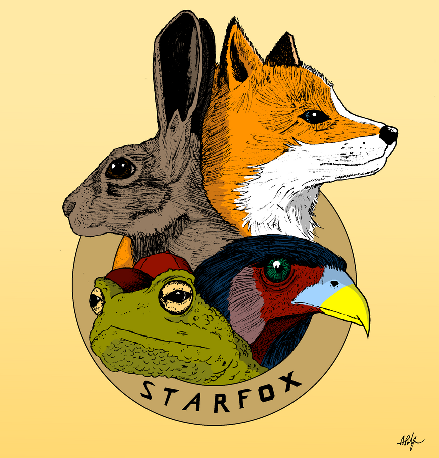 Team Starfox by PalfreyMan
