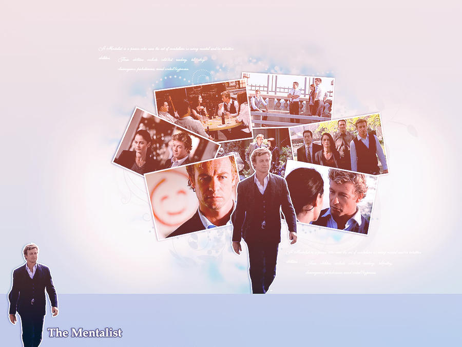 The Mentalist Wallpaper2 by missaune