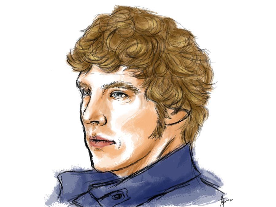 Sherlock by enaloszhie