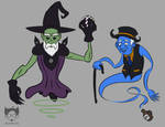 Wizards and Ghosts