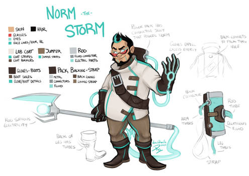 Norm the Storm Ref Sheet