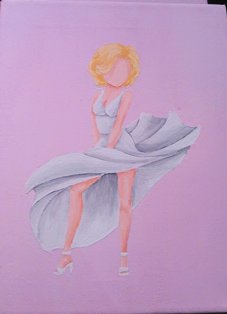 Marilyn Monroe by kusoka