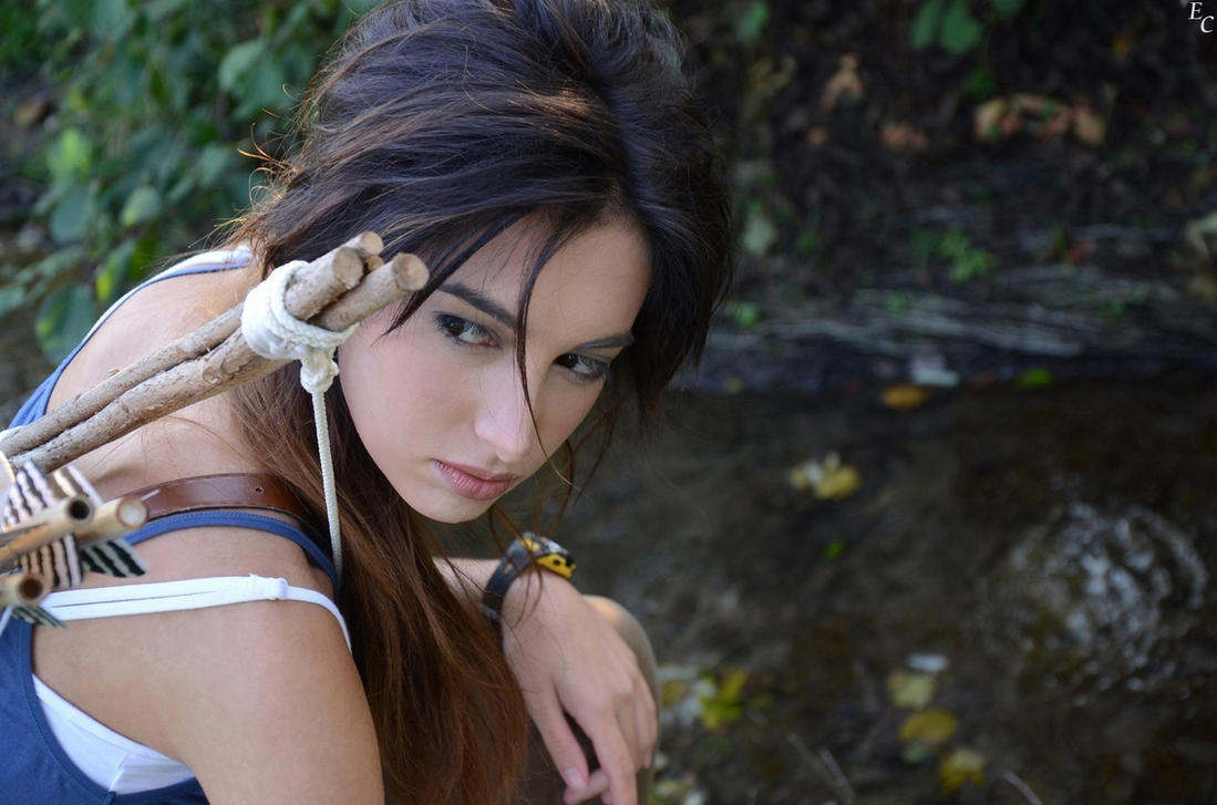 Lara Croft - Tomb Raider 2013 by Eleonora-Croft