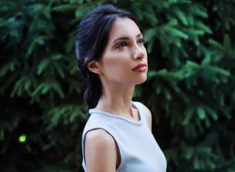 Lara Croft Portrait - Tomb Raider Anniversary
