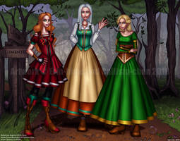 COLLAB: Medieval Girls