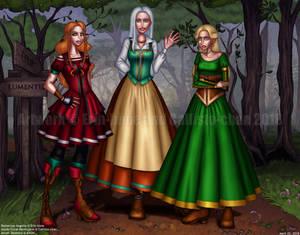 COLLAB: Medieval Girls
