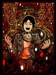 Mogami's fear parade! by Karigari666