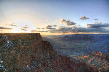 Grand Canyon Sunset by jasgreg