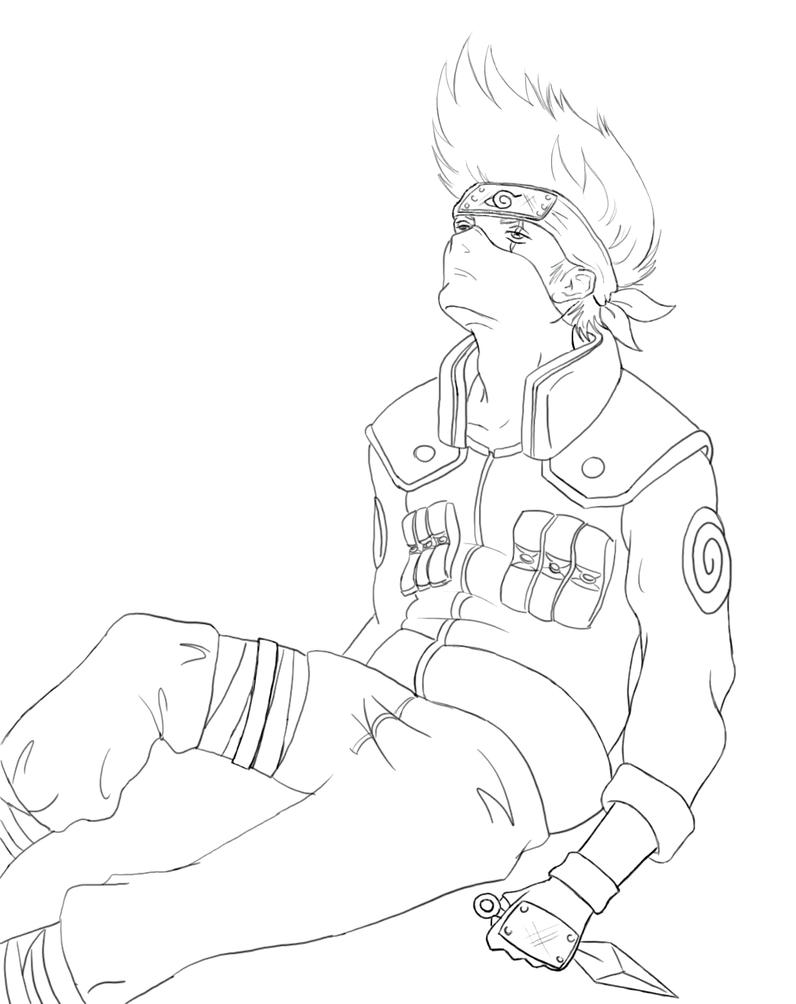 Hatake Kakashi by EarthToMe001