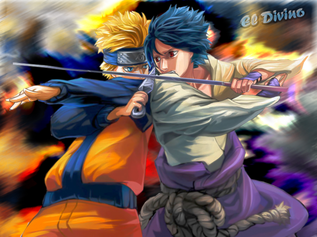 Naruto vs sasuke 2by el divino by eldivino87 on deviantart - Naruto as sasuke ...
