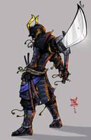 Samurai by spyders