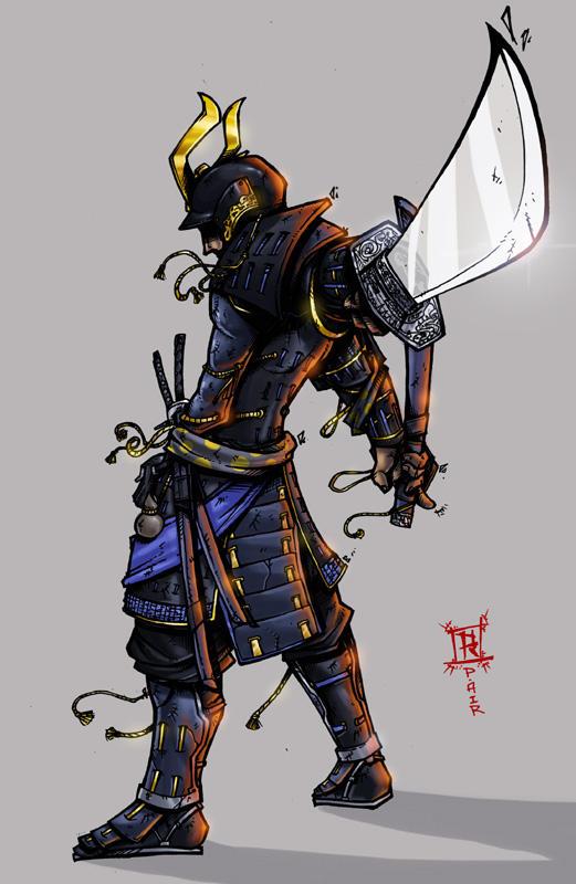 Samurai by spyders on DeviantArt