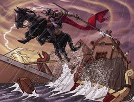 The Dark Rider by spyders