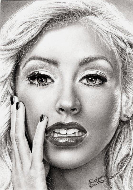 Christina Aguilera by diogenesdantas