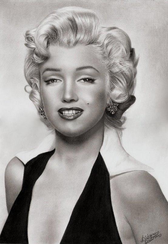 Marilyn Monroe by diogenesdantas