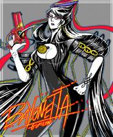 Bayonetta fanart by gumeaw
