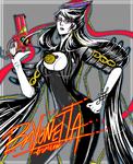 Bayonetta fanart