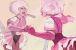 Pink diamond fanart