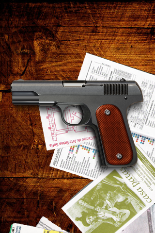 IPhone Gun Wallpaper By JherDan