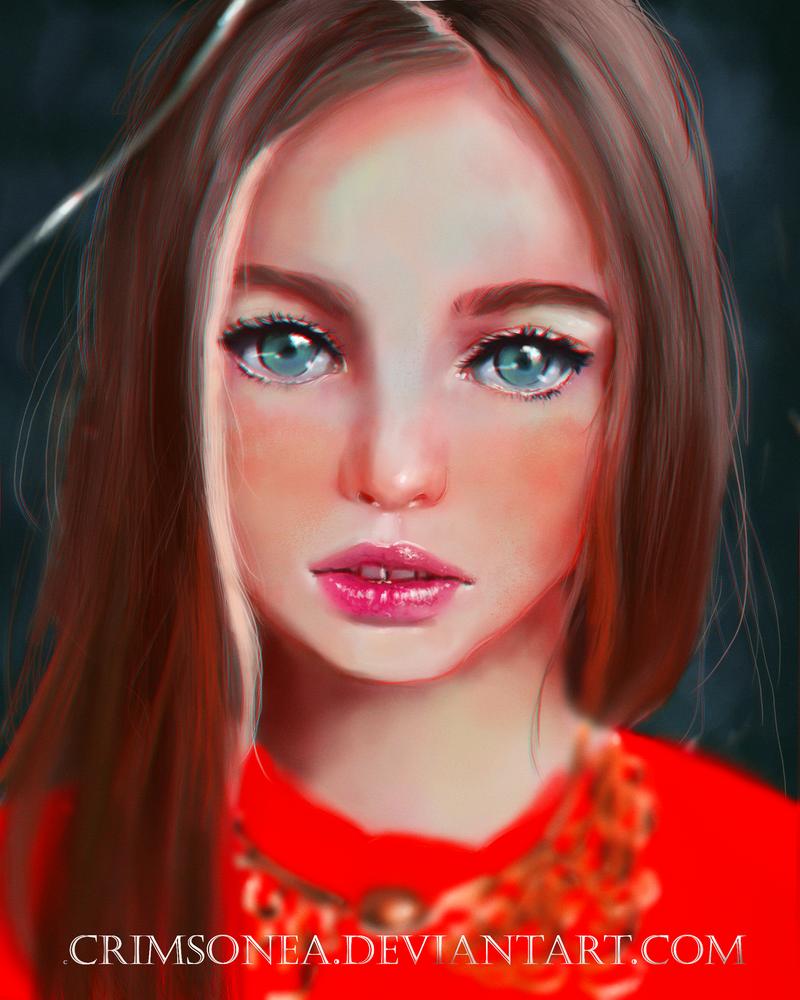 Anastasia Bezrukova by Crimsonea