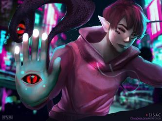 Eisac by Crimsonea