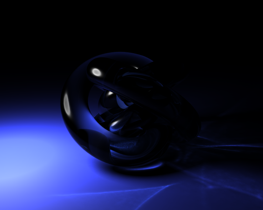 3Ds Max Caustics - Torus Knot by Valsinarb