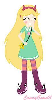 Star Butterfly - Equestria Girls Style