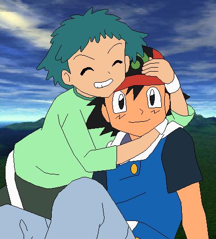 Pokemon ash and angie
