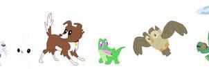 Mane Six Pets Base