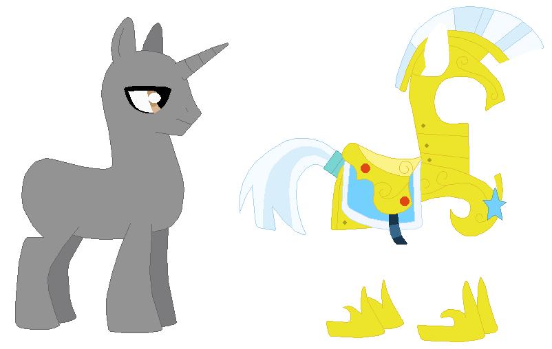 My little pony base unicorn with wings - photo#15